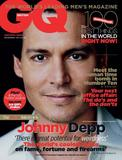 Johnny Depp British GQ December 2011