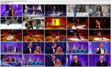 Heidi Range - Dancing on Ice - gold Bond girl catsuit - 22nd & 29th Jan 2012