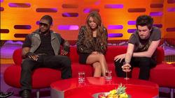 Miley Cyrus | Graham Norton Show 7-6-10 | Leggy | HD 1080i
