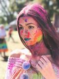 Victoria Justice - At Holi Color Festival In San Fernando Valley | May 13, 2017