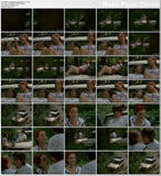 Lindy Booth - wearing tiny shorts in Wrong Turn (2003) - 3 clips